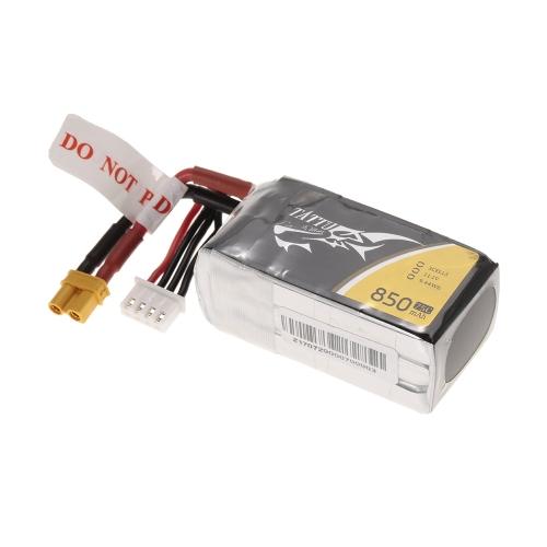 ACE TATTU 850 mAh 11,1 V 75C 3S1P 3 S Lipo Batterie mit XT30 Stecker für FPV Racing Drone