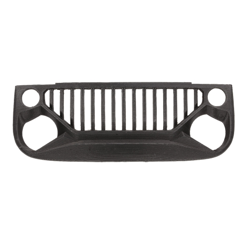 Air Inlet Grille Front Face for 1/10 RC Rock Crawler Axial SCX10 RC4WD D90 Jeep Wrangler Body Shell