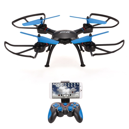DWi Dowellin D8 720P Camera Wifi FPV Drone Height Hold One Key Return G-sensor Quadcopter Toy