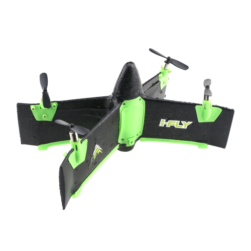 X99A 2.4G 4CH Flying Wing 3D Flip Drone Altitude Hold RC Rocket Quadcopter Mini Airplane RTF Gift Toy