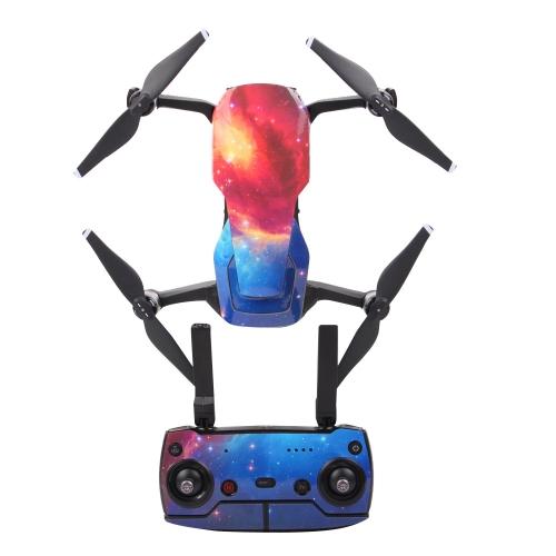 Naklejka ochronna Skórka Pokrywa wodoodporna naklejka Cool Pattern Starry Sky do DJI Mavic AIR RC Drone i pilot zdalnego sterowania