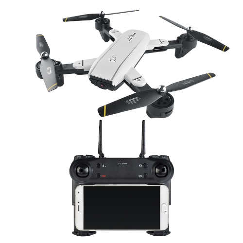 SG700 2.0MP Camera Wifi FPV Foldable 6-Axis Gyro Optical Flow Positioning Altitude Hold Headless RC Quadcopter w/ Two Batteries