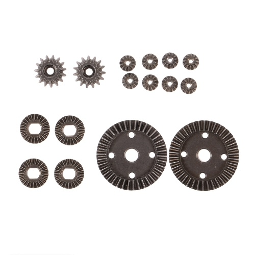 12T 15T 24T 38T Motor Metal Driving Gear Differential Pinion Main Gear Combo Set for WLtoys 1/18 A949 RC Off-road Buggy Monster Truck Car