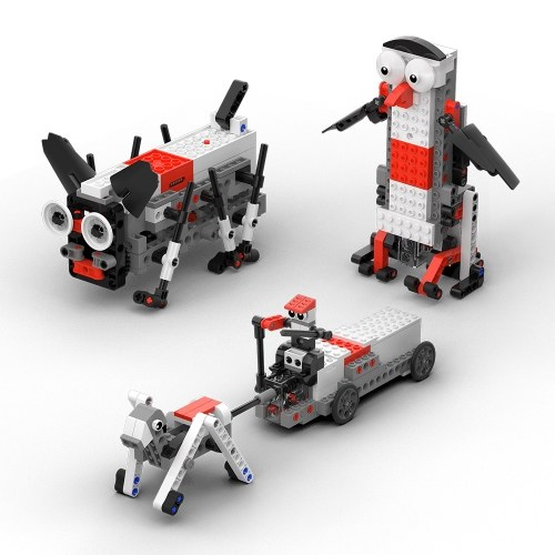 XiaoMi MITU Baustein Roboter Kit APP Steuerung programmierbare DIY Spielzeug Kinder Geschenk