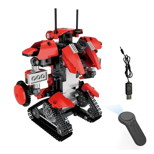 BB13001 M1 392PCS DIY 2.4G Télécommande intelligente Building Block RC Robot Jouet