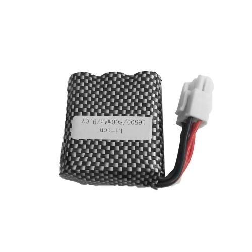 Литий-ионная аккумуляторная батарея 9.6V 800mAh