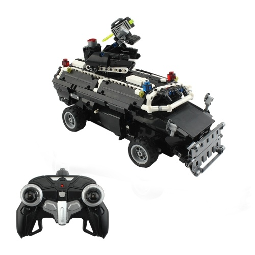 Military Car Building Blocks Educational Toy
