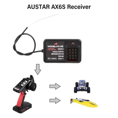 AUSTAR AX6S Receiver 4CH