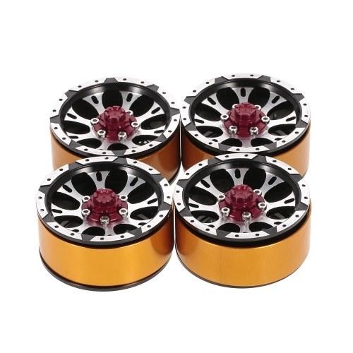 4Pcs 1.7 Inch Metal Wheel Rim Beadlock