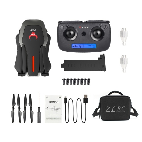 ZLRC Beast SG906 5G Wifi GPS FPV Drone with 4K Camera and Handbag