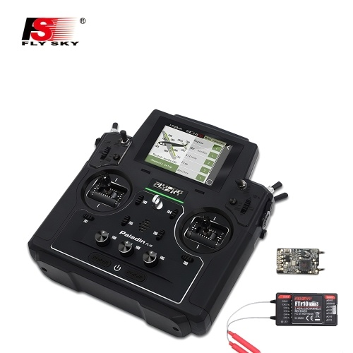 Flysky FS-PL18 Paladin 18CH 2.4G RC Transmitter Com FTr10 FTr16S Receiver Touch Screen