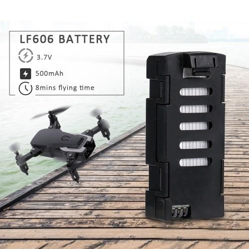 For LF606 RC Drone Mini Folding Quadcopter 3.7V 500mAh Lithium Battery