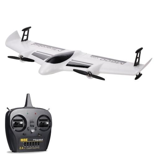 Mirarobot M600 RC Airplane 2.4GHz RC Aircraft 6CH Telecomando Foam Glider RC Aliante Aereo ad ala fissa Giocattoli per aeroplani per adulti Bambini