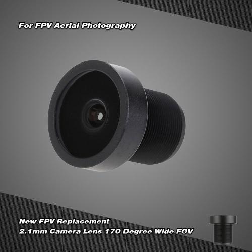 Nuovo FPV sostituzione 2,1 mm fotocamera lente 170 gradi ampia FOV per la fotografia aerea FPV