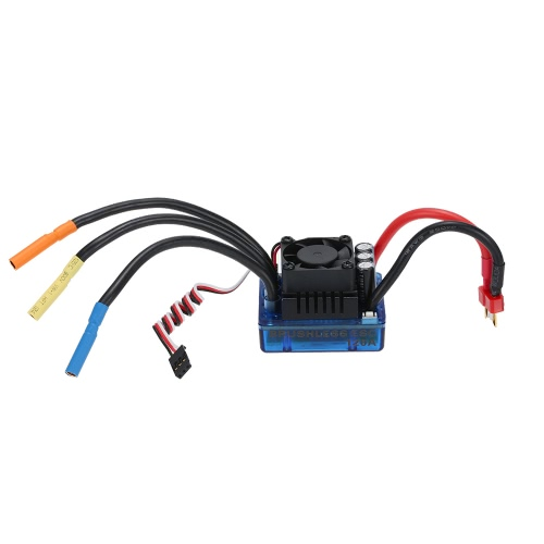Moteur Brushless 4068 2050KV & 120 a Brushless ESC & LED programmation carte Combo Set pour voiture RC 1/8