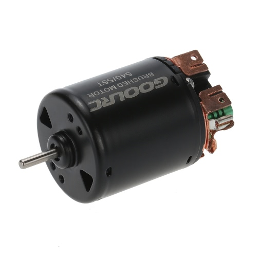 GoolRC 540 55T 4 pólos motor escovado e WP-1060-RTR 60A impermeável Escovado ESC controlador eletrônico de velocidade com 5V / 2A BEC para carro 1/10 RC