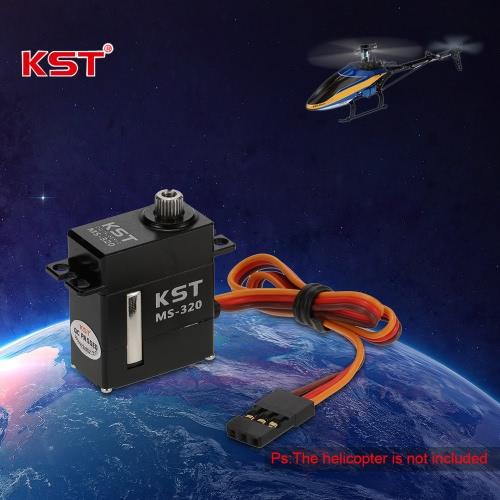 オリジナルKST MS320非接触位置センサ焼入れ鋼ギアデジタルCCPMサーボゴブリン380 450 RCヘリコプター&ロボット