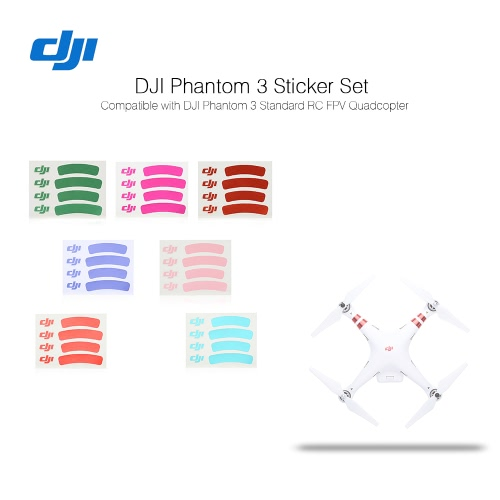 Original DJI Phantom 3 Spare Part NO.82 Sticker Set for DJI Phantom 3 (Sta)