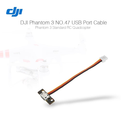 Cavo Port originale DJI Phantom 3 pezzo di ricambio NO.47 USB per DJI Phantom Serie 3 Quadcopter