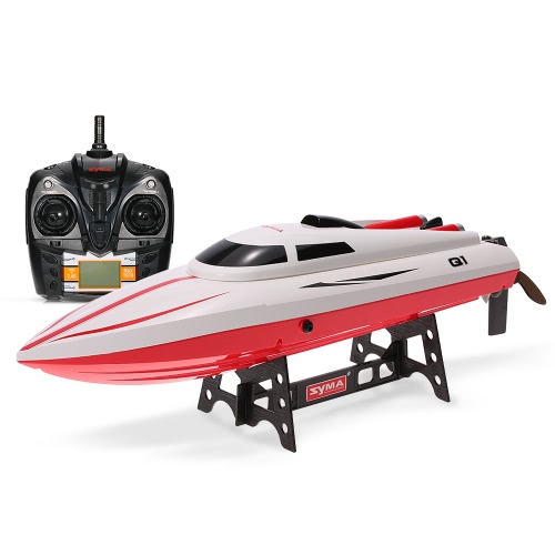 Original Syma Q1 Pionier 2.4G 2CH Fernbedienung 180 ° Flip High Speed ​​Electric RC Boat Kinder Geschenke
