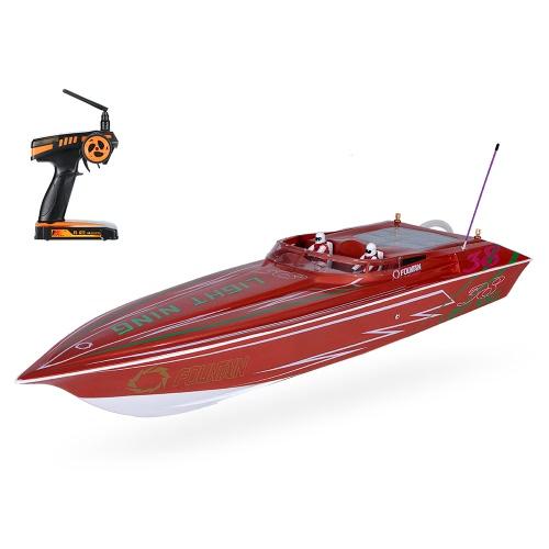 オリジナルVANTEX BL070BP 1300BPライトニングFS-GT2 2.4G送信機高速毎時60キロ電動RCレーシングボート
