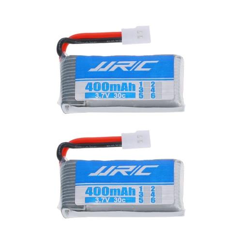 2pcs Batterie LiPo JJRC 3.7V 400mAh 30C pour JJRC H31 GoolRC T6 RC Quadcopter