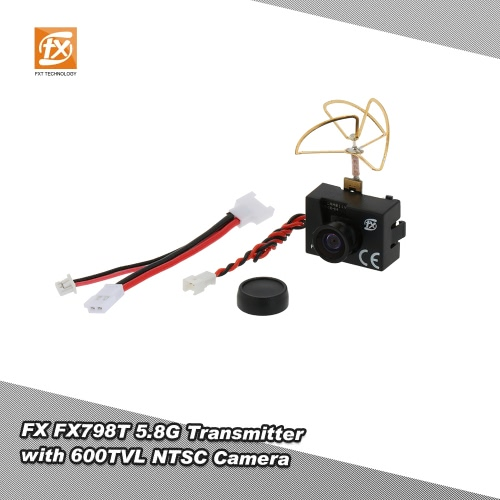 Original FX FX798T 5.8G 25mW 40CH Mini Transmitter with 600TVL NTSC Camera Combo for RC FPV Drone