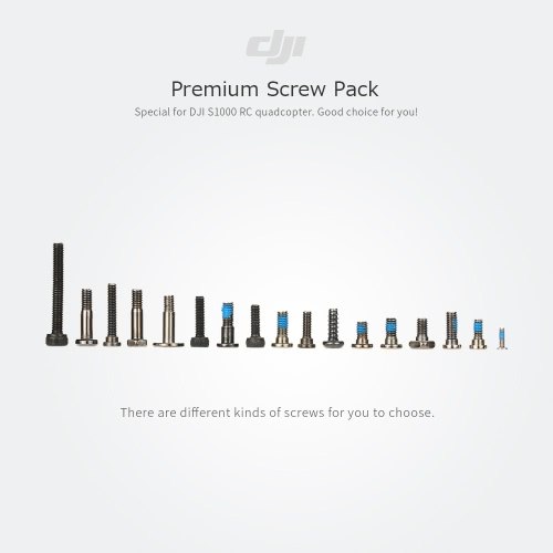 Original DJI S1000 Parte 61-premium Screw Pack para DJI S1000 RC Quadrotor