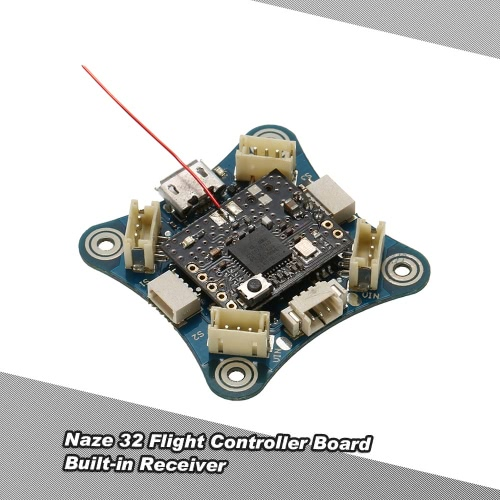 Naze32 Flight Controller Board X Type 1S Brushless Built-in DSM2 Receiver for FPV Racing Drone Quadcopter Multirotor