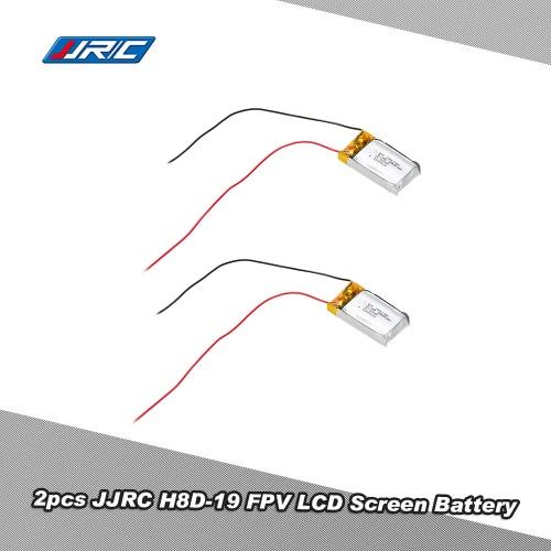 2Pcs Original JJRC H8D-19 3.7V 250mAh FPV LCD Screen Battery for H8D RC Quadcopter