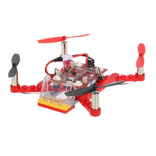 2.4G 4CH 6-осевой гироскоп Mini DIY Building Block Drone RC Quadcopter Kids Gift Toy