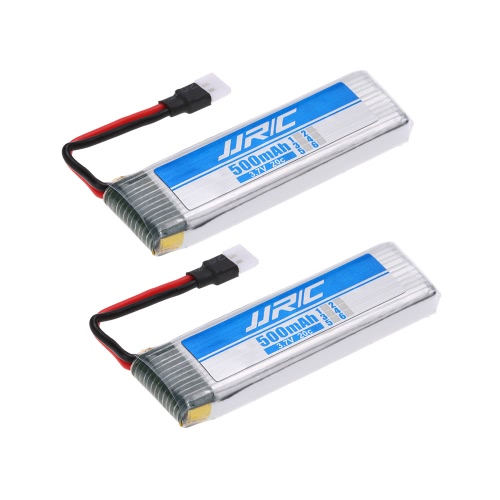2szt Original JJRC 3.7V 500mAh 20C LiPo Battery for JJRC H37 RC Quadcopter