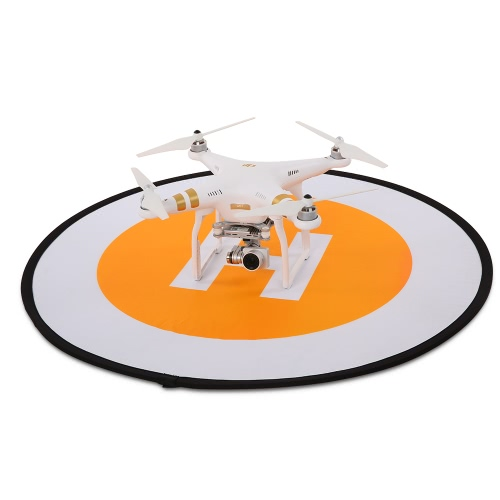 78cm Tarmac Apron Fast Foldable Retractable Fluorescence Landing Pad for DJI Mavic Pro Phantom 3 4 FPV Quadcopter RC Helicopter