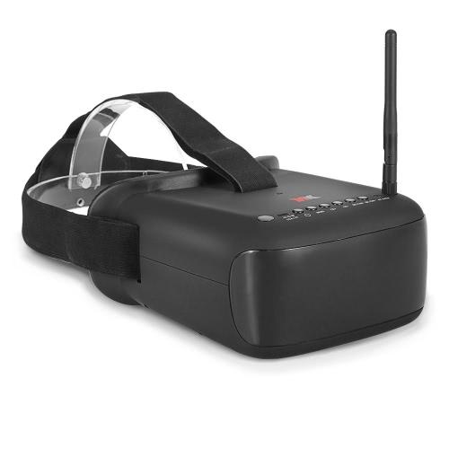XK XK-F100 5.8G 40CH Lunettes vidéo FPV Goggles pour QAV250 FPV Racing Drone H501S Inductrix QX95 X252 Quadcopter
