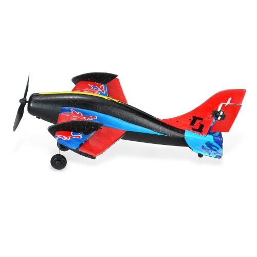 TECHBOY TB-367 2.4G 2CH Fernbedienung RC Flugzeug 280mm Spannweite EPP Mini Bull Stunt Glider Drone