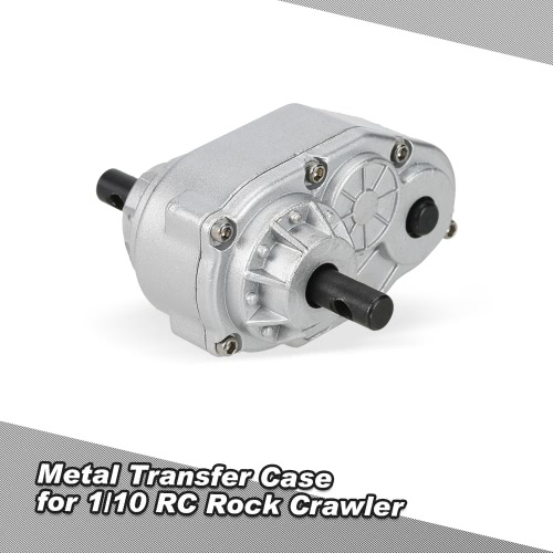 1/10 Metal Transfer Case for 1/10 SCX10 RC4WD Gelande II D90 RC Crawler