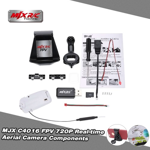 MJX C4016 FPV 720P Real-time Aerial Camera Components for MJX X400-V2 X500 X600 X800 X101 X102H X402H T64 T10 T55 T57