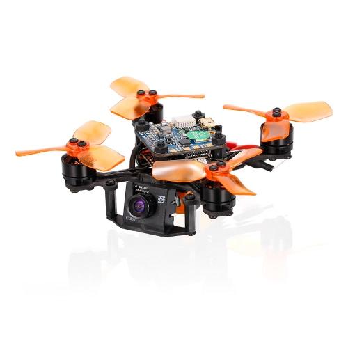 IDEAFLY IF-88 88mm 5.8G 40CH 600TVL FPV Racing Drone 1104 Motor sem escova com controlador de vôo F4 Frsky Receiver BNF