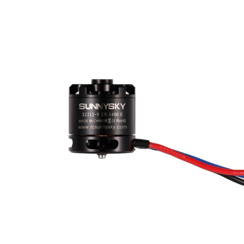 SUNNYSKY X2212 1400KV II 2-4S Brushless Motor Short Shaft for RC Airplane Aerobatic Fixed-wing Drone