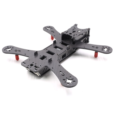 GEPRC GEP210 210mm H-Type Sunken 5in Carbon Fiber FPV Racing Drone Quadcopter Frame Kit with XT60 Power Distributor LEDs