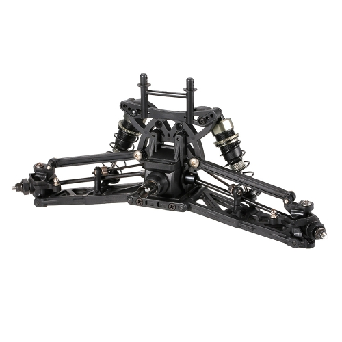 ZD Racing 9103 Thunder ZTX-10 4WD 1/10 Skala elektrische LKW-Auto-Rahmen-Suspendierungs-Reifen-Installationssatz
