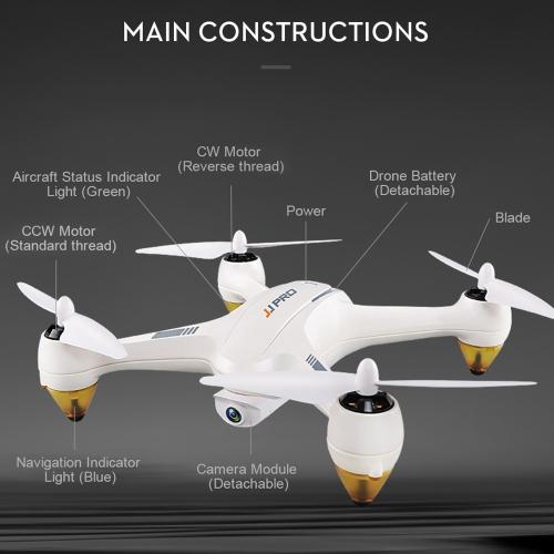 JJRC JJPRO X3 HAX Wifi FPV Drone Brushless RC Quadcopter - RTF
