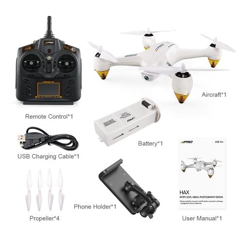 Image of JJRC JJPRO X3 HAX Wifi FPV Drohne Brushless RC Quadcopter - RTF