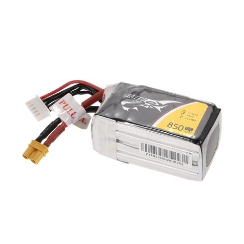 ACE TATTU 850 mAh 14,8 V 75C 4S1P 4 S Lipo Batterie mit XT30 Stecker für FPV Racing Drone