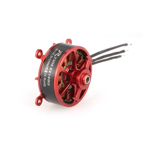 Sunnysky R2305 2305 1480KV 2-3S Brushless Motor for Indoor F3P RC Fixed-wing Airplane
