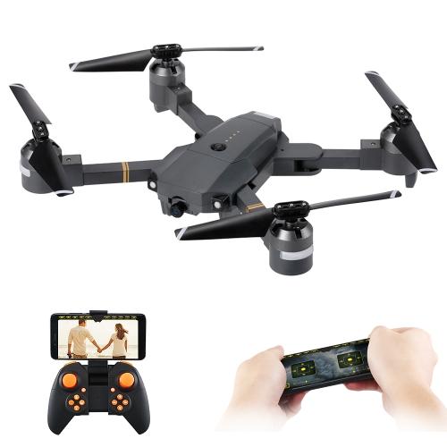 Attop XT-1 WIFI 2.4G 6-axis Gyro FPV 2.0MP Câmera 3D Flip Altitude Retenção Foldable RC Quadcopter