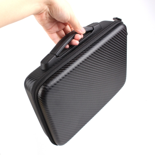 Outdoor PU Portable Shockproof Waterproof Carbon Fiber Handbag for DJI Mavic AIR Drone