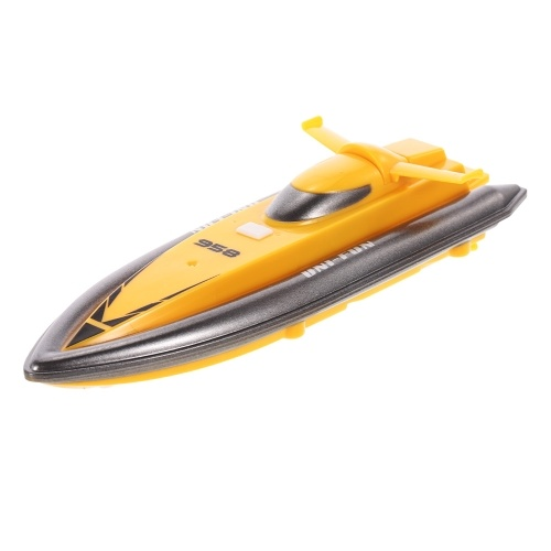 HUANQI 958A 2.4GHz 2CH Portable Mini RC Boat Indoor Remote Control Speedboat Boy Gift Kid Toy