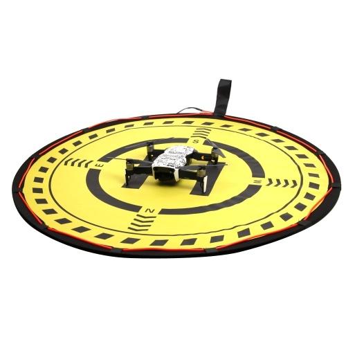Parkschürze mit LED-Licht 70cm Durchmesser Landeplatz für DJI Spark Mavic Phantom Serie FPV Drone RC Quadcopter
