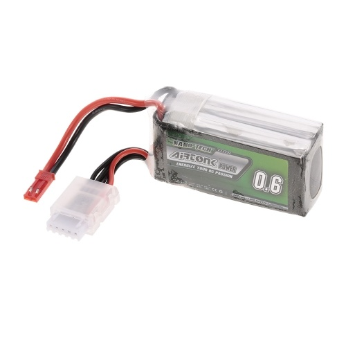 14.8V 600mAh 30C 4S Rechargeable Li-Po Battery with JST Plug for RC Racing Drone Quadcopter Helicopter Airplane Car Truck